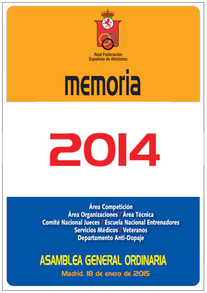 Memoria RFEA 2014 - Descarga Digital aquí